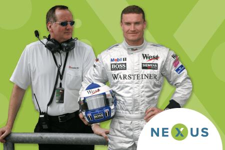 Mark Gallagher und David Coulthard als Keynote-Speaker auf der Nexus 2019