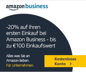 amazon business Rabatt