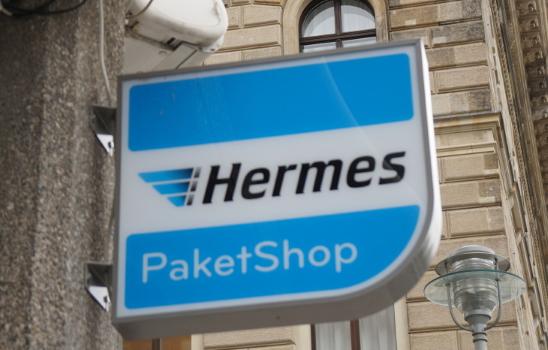 In deutschen Großstädten müssen Hermes Kunden durchschnittlich 600 Meter zum nächsten Shop zurücklegen. (Foto: Hermes)