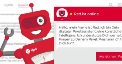 DPD Chatbot Red