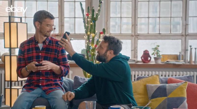 eBay Weihnachtskampagne - Werbung mit Joko Winterscheidt und Fotograf Paul Ripke