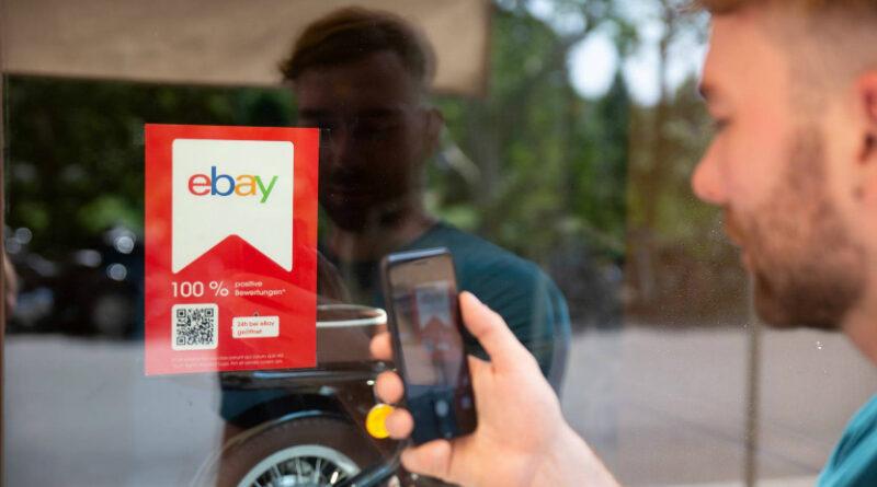 eBay Shoplabel für den stationären Handel