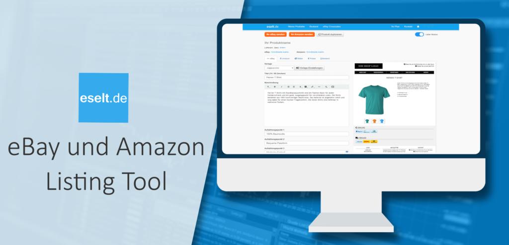 eBay und Amazon Listing Tool von Eselt.de