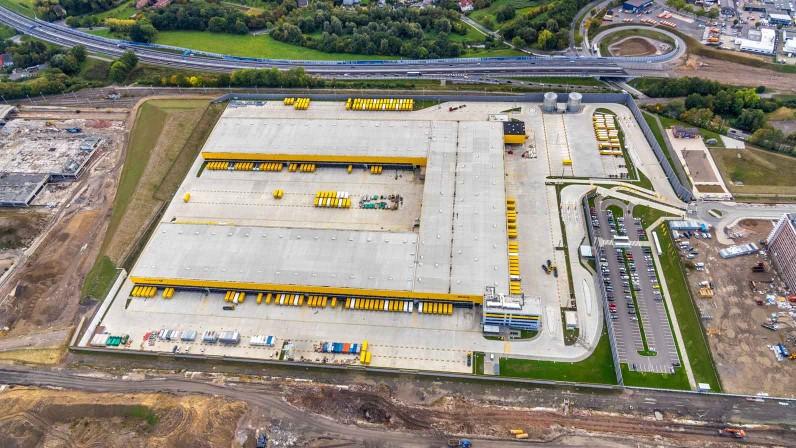 Luftbild Deutsche Post DHL Paketzentrum Bochum (c) Deutsche Post DHL Group