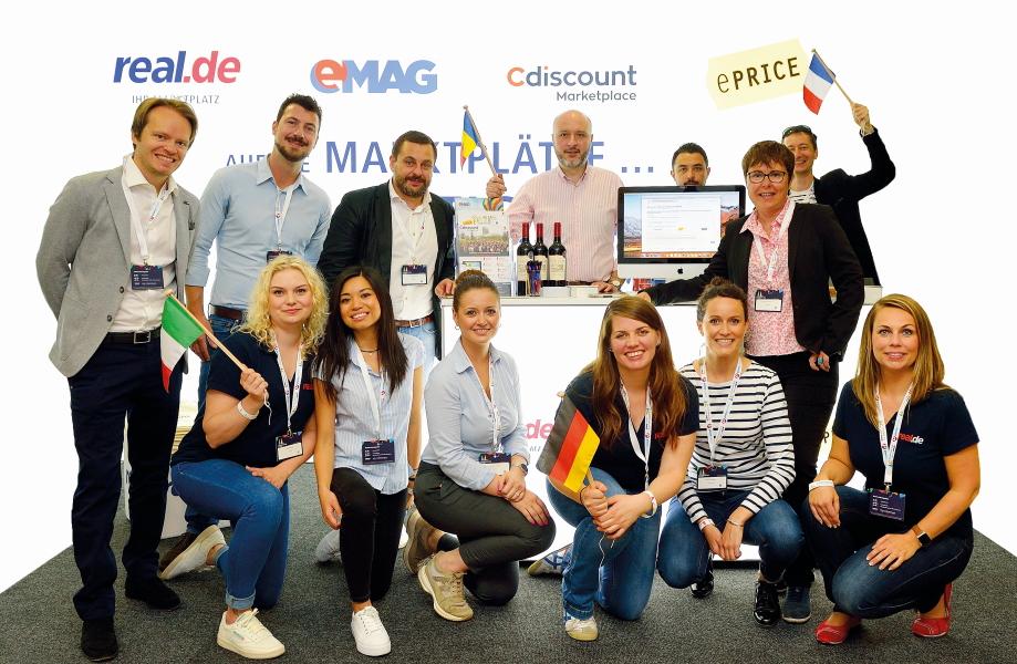 real.de Team beim e-Commerce Day 2018
