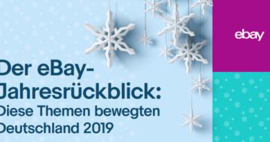 eBay Jahresrückblick 2019