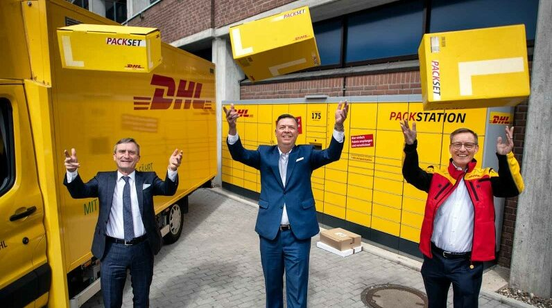 5000 DHL Packstationen