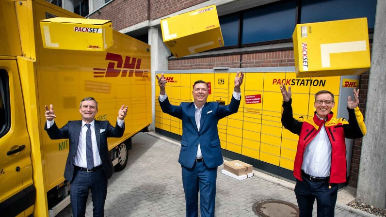 5000 DHL Packstationen