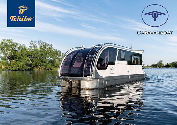 Tchibo Caravanboat Wohnwagenboot