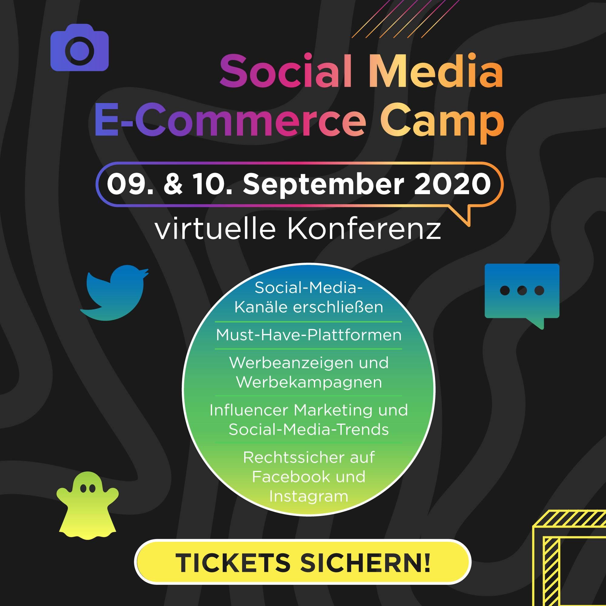 SOCIAL MEDIA E-COMMERCE CAMP