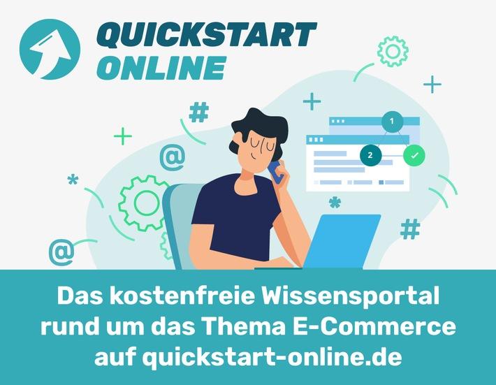Quickstart Online unterstützt Händler
