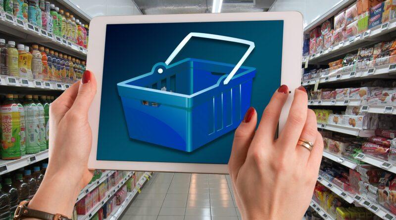 Einkaufen digital