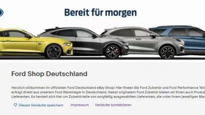eBay Ford Shop Deutschland