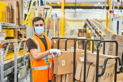 Amazon Lagerarbeiter
